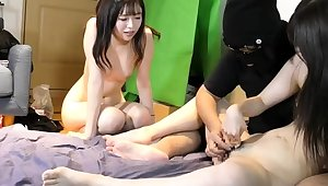 Beloved japanese teen bizarre nose playing for nasty fetish
