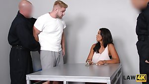 Brutal guy fucks super juggy babe Chloe Lamour improvement her cuckold make obsolete